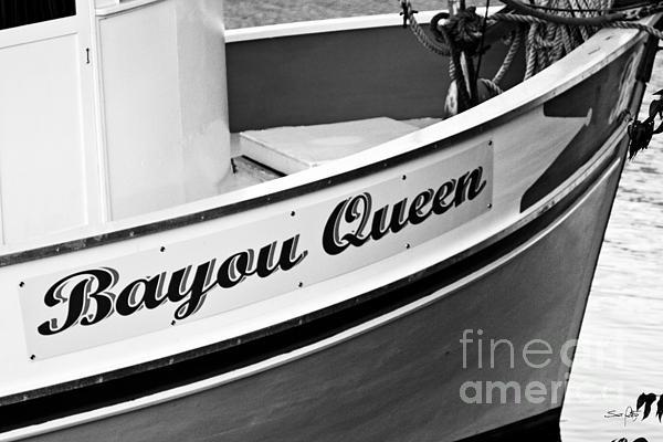 Boat Photograph - Bayou Queen by Scott Pellegrin
