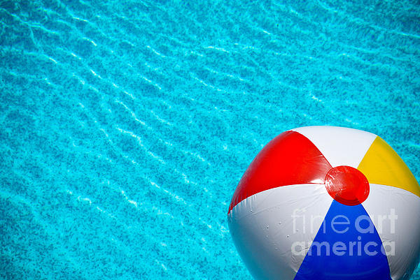Ball Photograph - Beachball 1 by Amy Cicconi