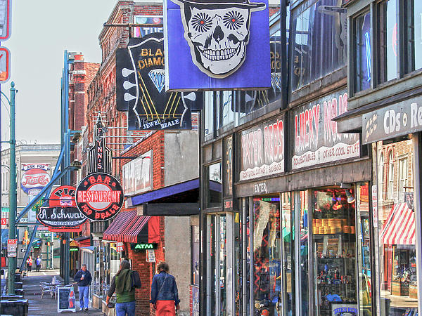 Hdr Photograph - Beale Walk by Suzanne Barber