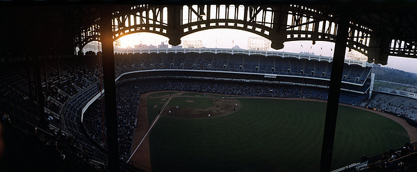 Marvin Newman Photograph - Beatiful View Of Old Yankee Stadium by Retro Images Archive