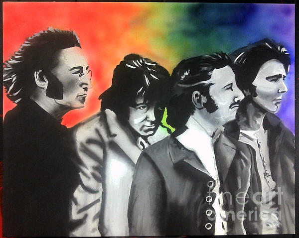 Beatles Painting - Beatles For Sale by Jacob Logan