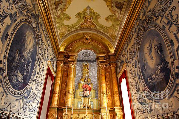 Azores Photograph - Beautiful Azorean Church by Gaspar Avila