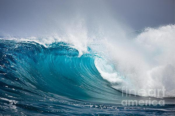 Beautiful Photograph - Beautiful Ocean Wave by Boon Mee