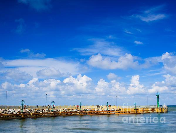 Beautiful Photograph - Beautiful Sea Sky by Boon Mee