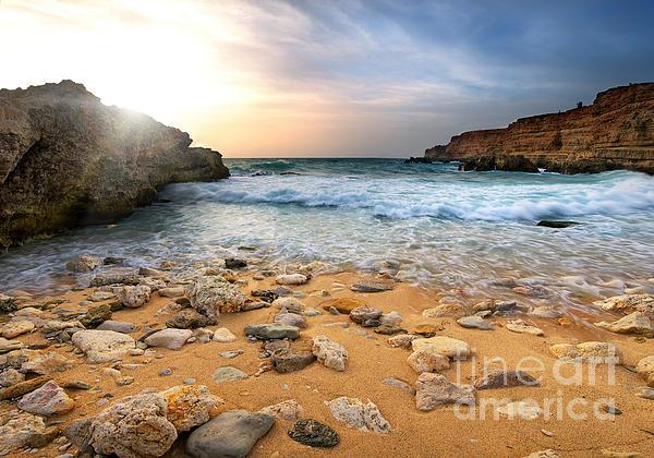 Beautiful Photograph - Beautiful Sea Stones by Boon Mee