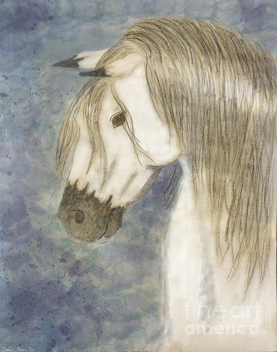 Nature Painting - Beauty And Strength1 by Debbie Portwood