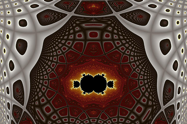Abstract Digital Art - Becoming Detached by Mark Eggleston