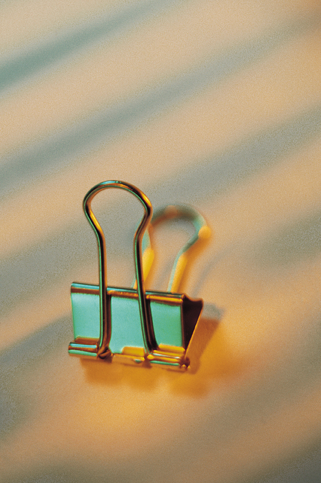 Binder Clip Photograph by Comstock