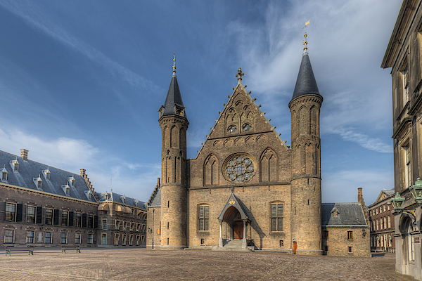 Binnenhof Dutch Parliament Photograph by Hans Georg Eiben