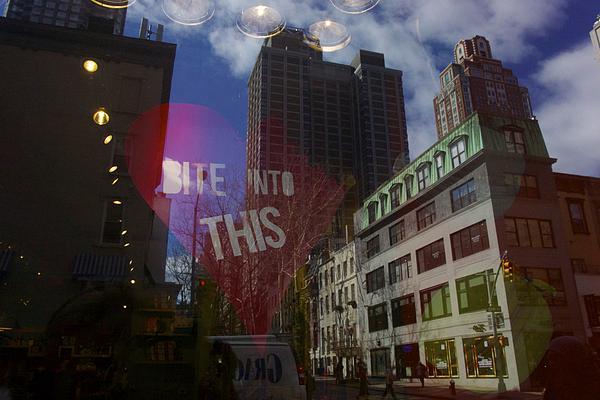 New York Photograph - Bite Into This by Heidi Horowitz