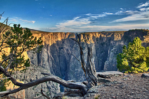 Eric Rundle Photograph - Black Canyon Fading Light by Eric Rundle