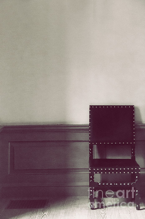 Chair Photograph - Black Stud by Margie Hurwich