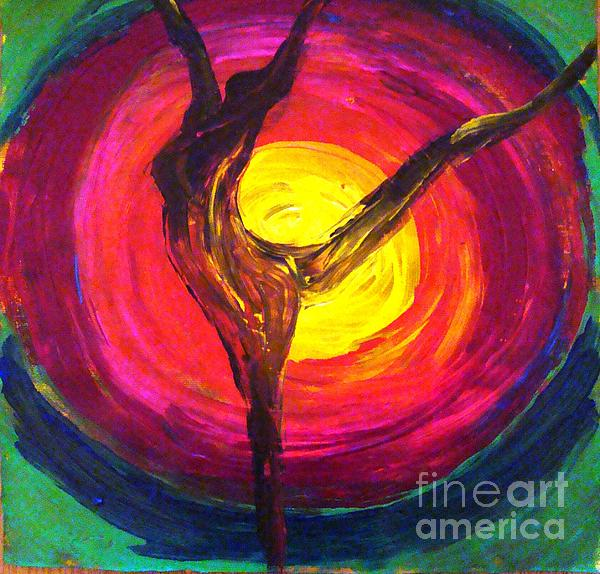 Blessed Morning Painting by Sonali Singh