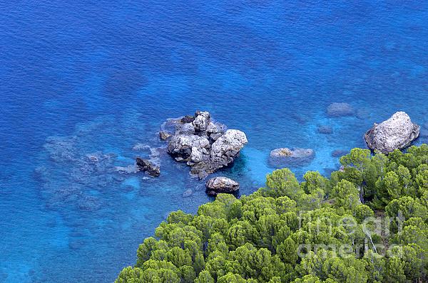 Blue Sea Photograph - Blue Sea by Boon Mee