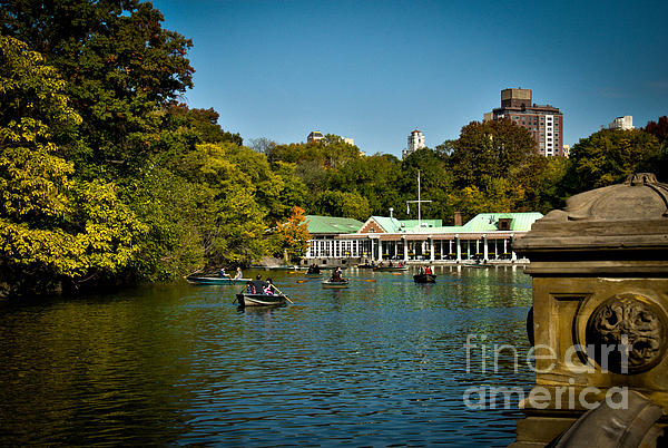 Boat House Photograph - Boat House Central Park New York by Amy Cicconi