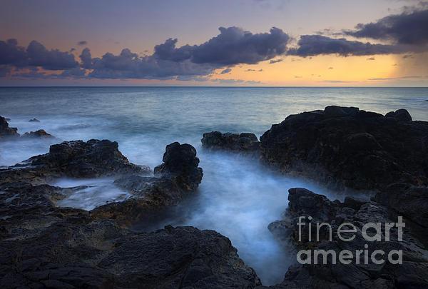 Kauai Photograph - Boiling Sea by Mike  Dawson