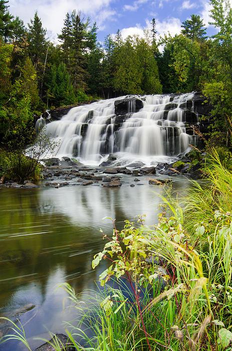 Michigan Photograph - Bond Falls by Thomas Pettengill