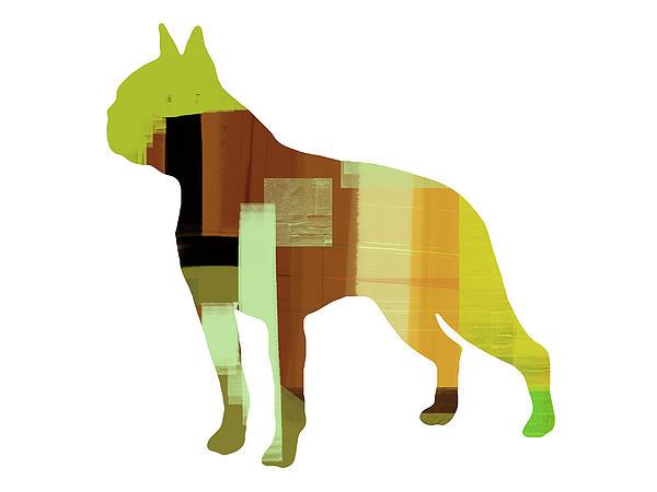 Boston Terrier Painting - Boston Terrier by Naxart Studio