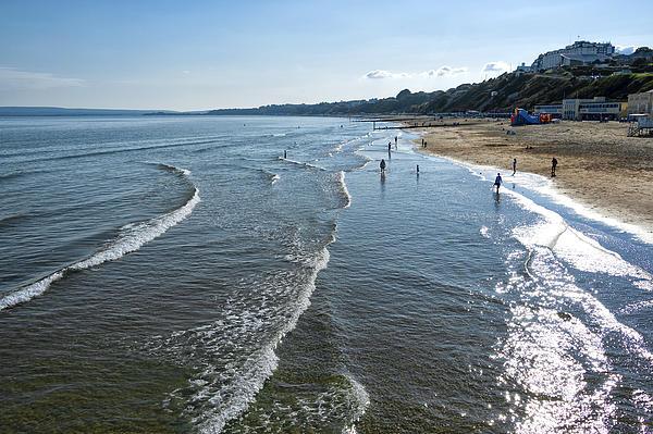 Activity Photograph - Bournemouth Beach by Svetlana Sewell