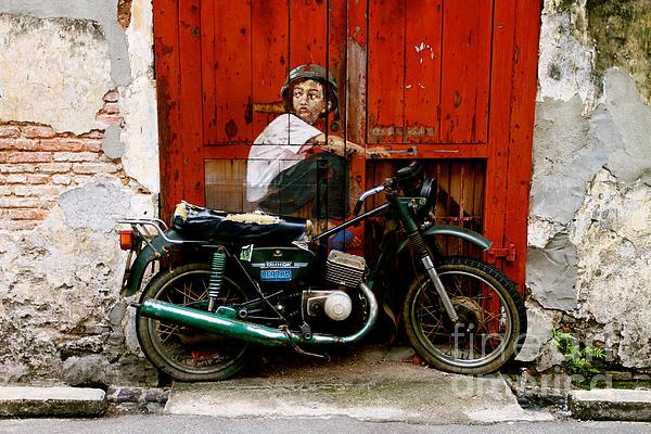 Boy On A Bike Photograph - Boy On A Bike by Donald Chen
