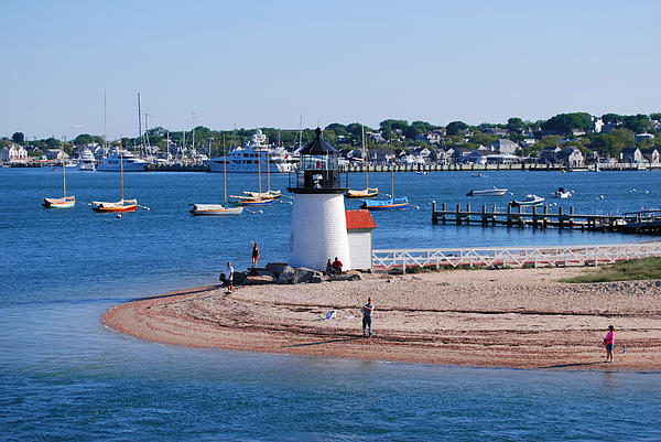 Cape Cod Photograph - Brant Point  by Lorena Mahoney