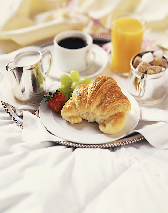 Breakfast In Bed Photograph by Armstrong Studios
