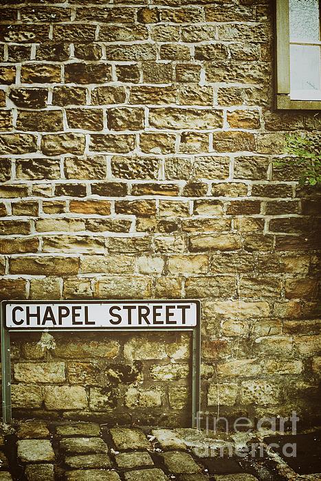 Old Photograph - Brick Wall by Amanda Elwell