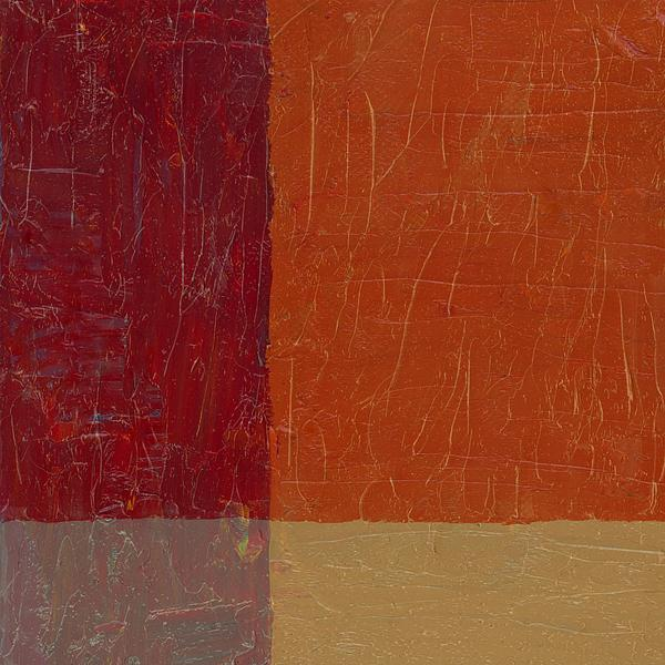 Abstract Painting - Bricks And Reds by Michelle Calkins