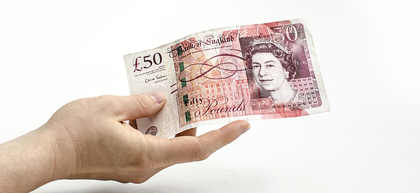 British Pound Sterling Note Photograph by Gldburger