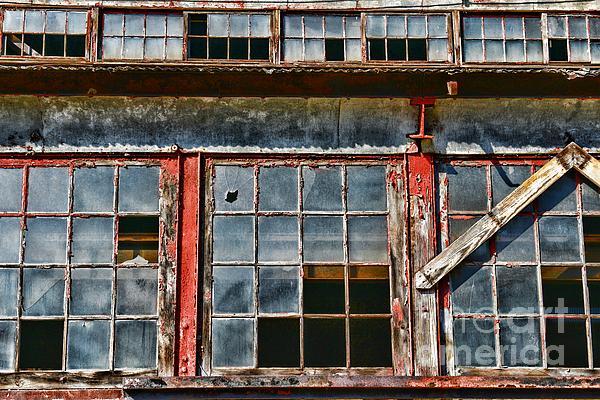 Paul Ward Photograph - Broken Windows by Paul Ward