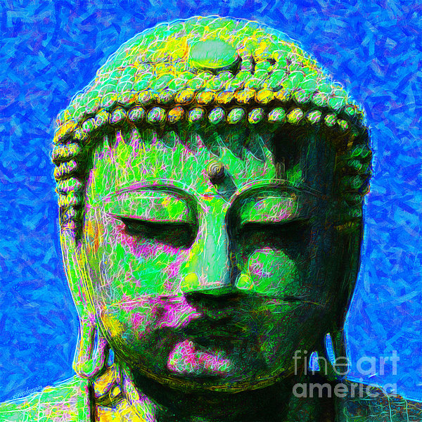 Religion Photograph - Buddha 20130130p0 by Wingsdomain Art and Photography