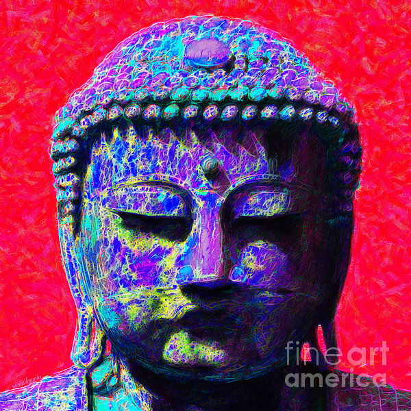 Religion Photograph - Buddha 20130130p128 by Wingsdomain Art and Photography