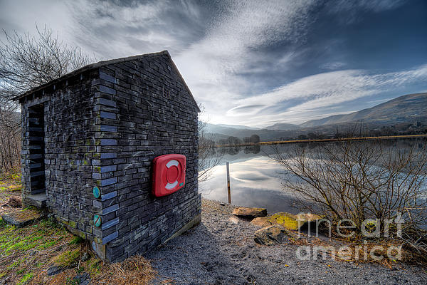 Architecture Photograph - Buoy At Lake by Adrian Evans