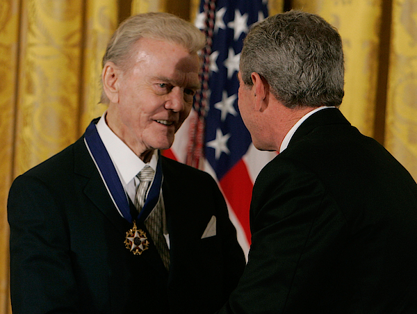 Bush Honors Presidential Medal Of Freedom Recipients Photograph by Mark Wilson