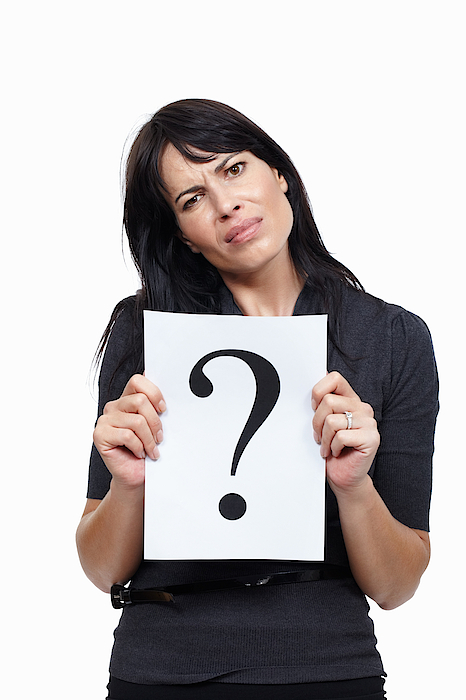 Business Woman With A Question Photograph by GlobalStock