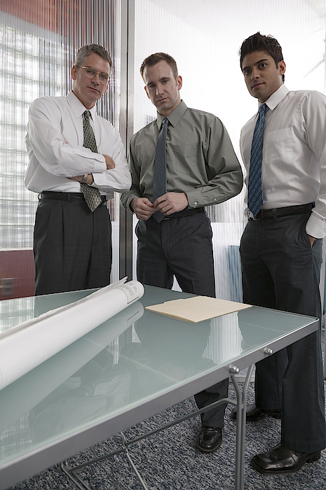 Businessmen Photograph by Comstock Images