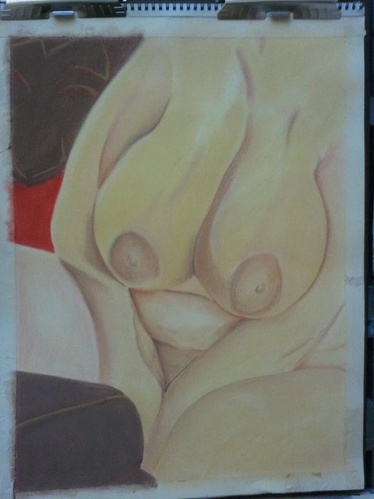 Nude Pastel - Busty by Dro Hall