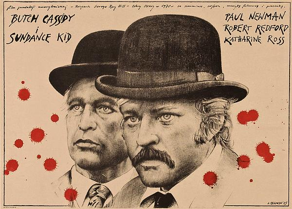 Butch Cassidy Photograph - Butch Cassidy And The Sundance Kid by Movie Poster Prints