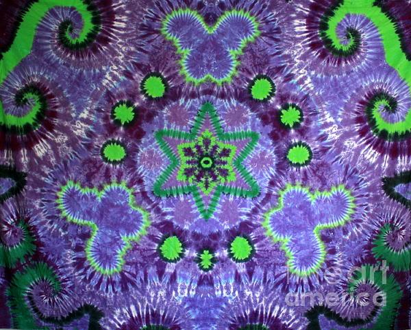 Butterfly Tapestry - Textile - Butterfly Mandala by Carl McClellan