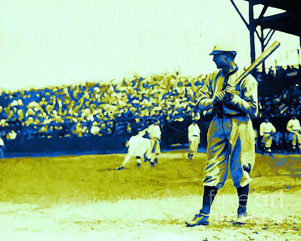 Baseball Photograph - Cactus League - 20130207 by Wingsdomain Art and Photography