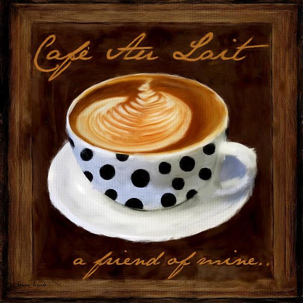cafe au lait digital art by lourry legarde. Black Bedroom Furniture Sets. Home Design Ideas