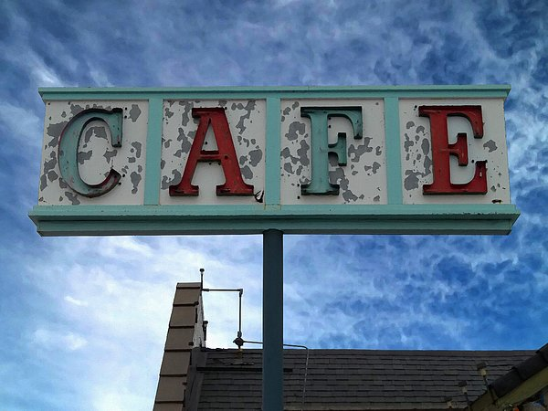 Cafe Photograph - Cafe by Glenn McCarthy Art and Photography