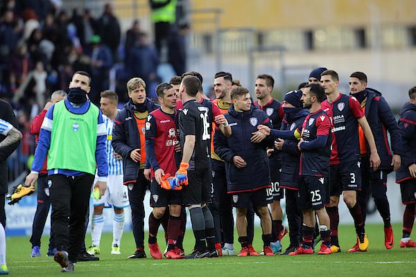 Cagliari Calcio V Spal - Serie A Photograph by Enrico Locci
