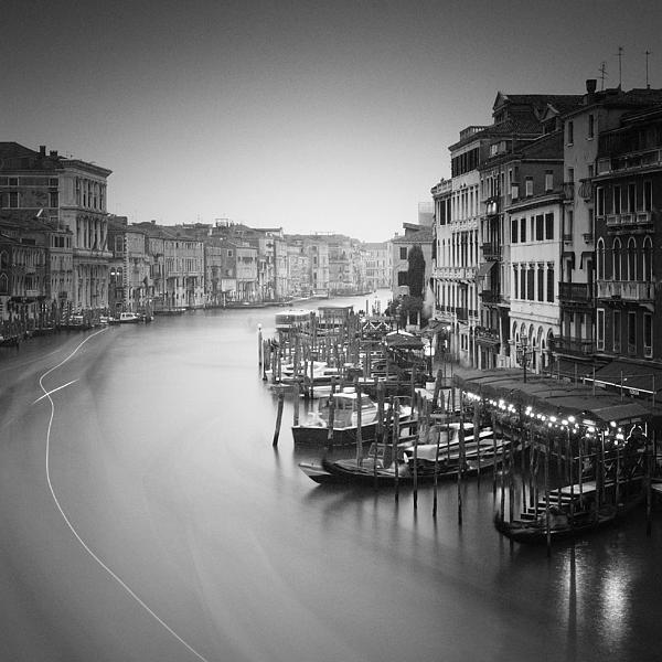 Venice Photograph - Canal Grande Study IIi by Nina Papiorek