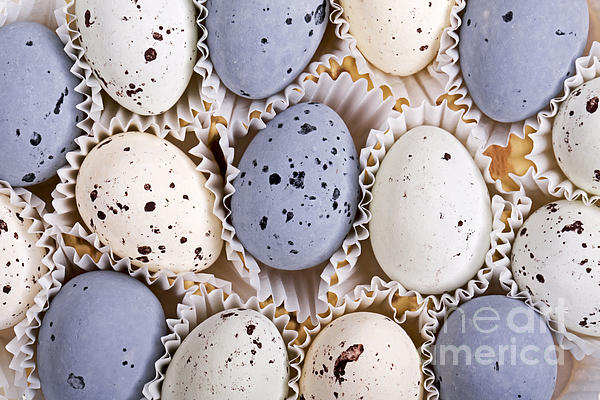 Background Photograph - Candy Eggs by Jane Rix