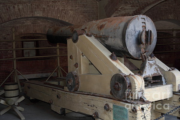 San Francisco Photograph - Cannon At San Francisco Fort Point 5d21499 by Wingsdomain Art and Photography