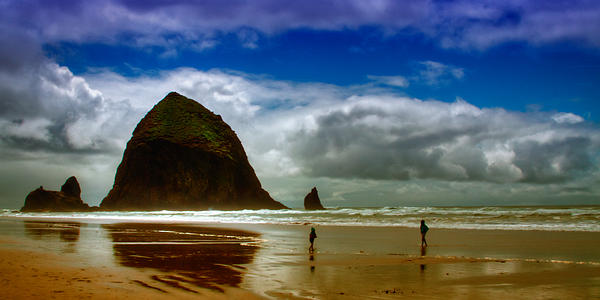 Cannon Beach Photograph - Cannon Beach At Dusk II by David Patterson