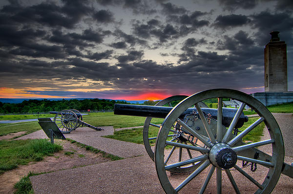 Abraham Photograph - Canon Over Gettysburg by Andres Leon
