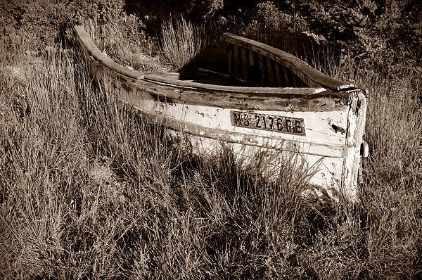 Boat Photograph - Cape Cod Skiff by Luke Moore