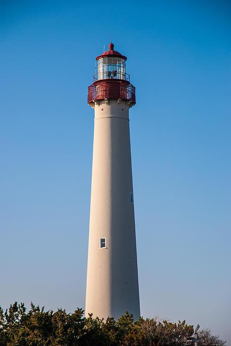 Cape May Photograph - Cape May Lighthouse by Jennifer Ancker